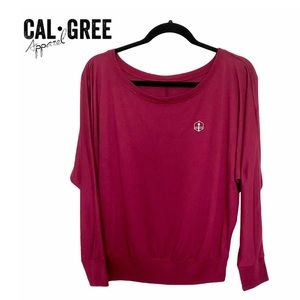 Cal-Gree Apparel Ladies Tiny Tower Slouchy Top